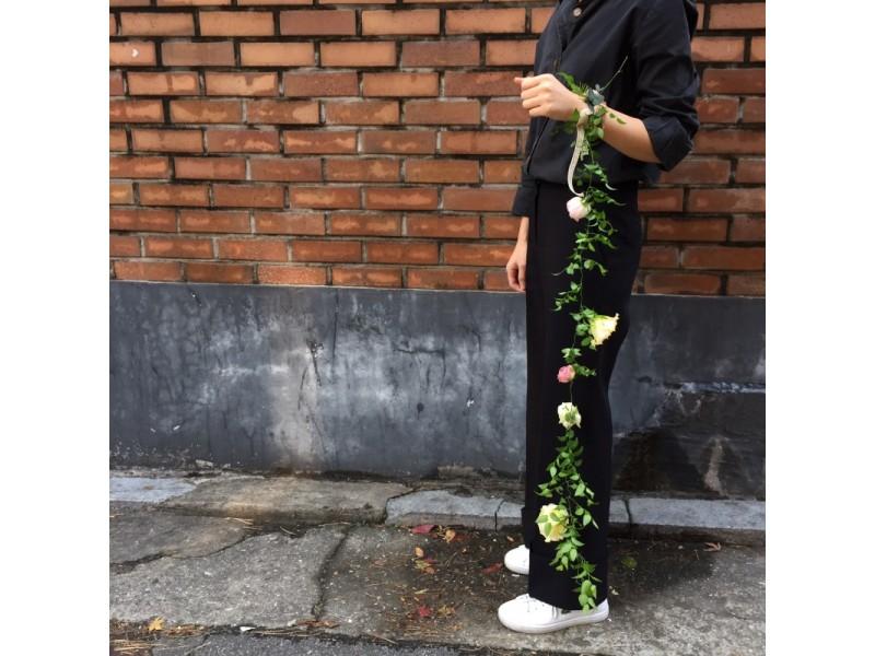 웨딩 꽃팔찌.JPG